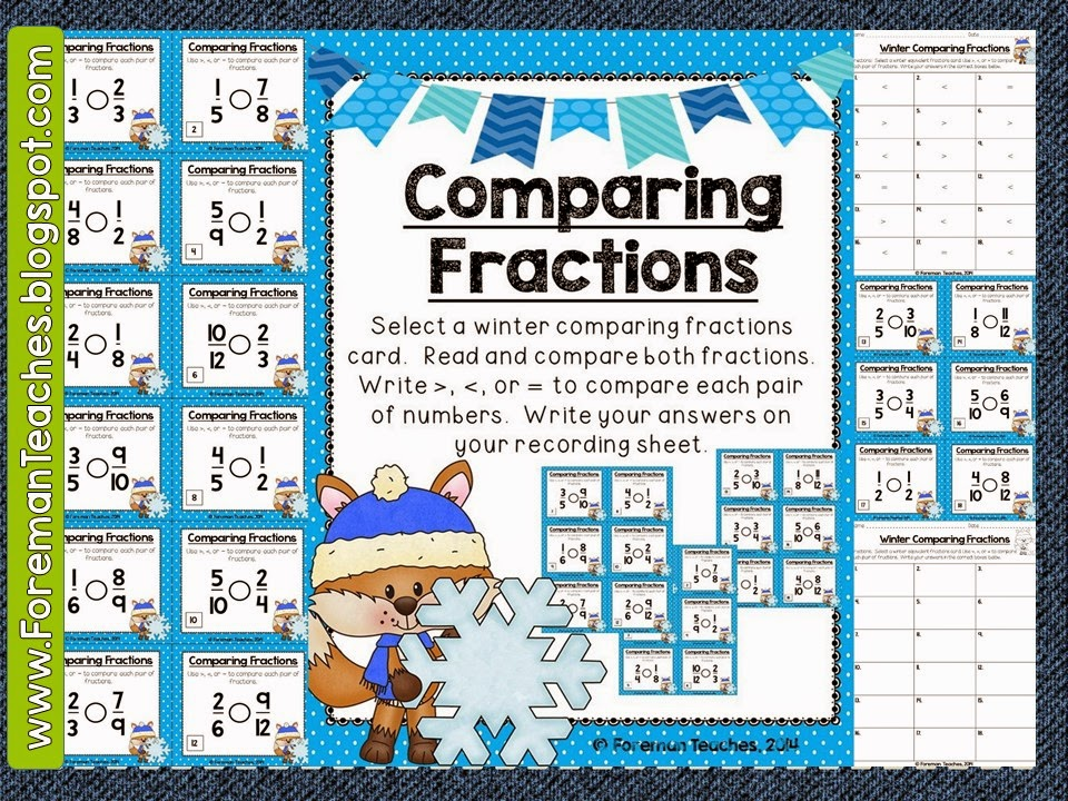 Foreman Teaches: Happy New Year, Winter Math Centers, and a Small ...