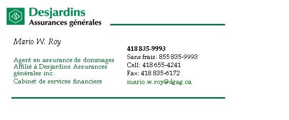 Assurance auto visa or desjardins assurance auto for Assurance desjardins maison