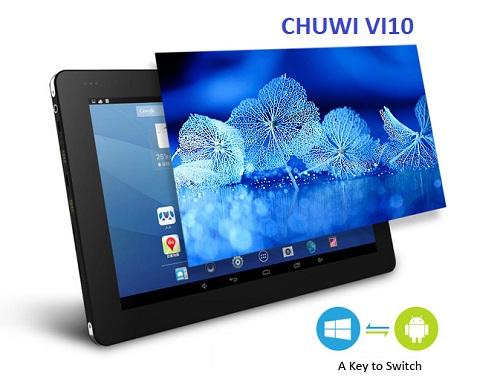 CHUWI VI10 - DUAL BOOT ANDROID - WINDOWS
