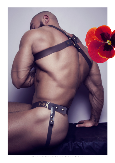 Francois Sagat by Exterface for Kick 2014 Calendar