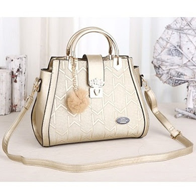COACH DESIGNER BAG - GOLD