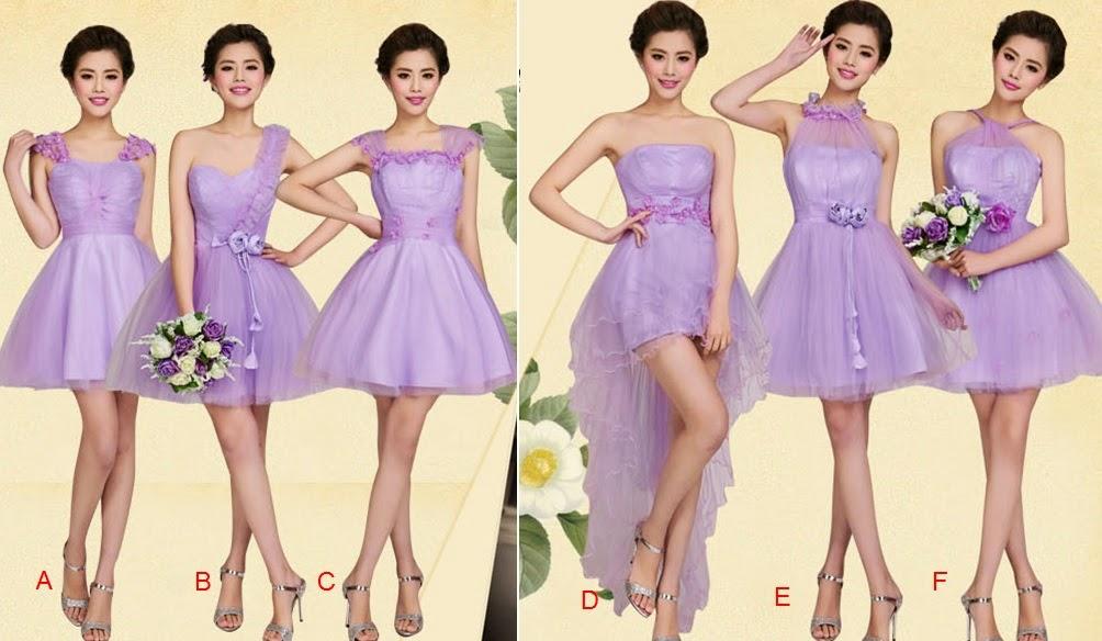 Purple Tutu Lace Bridal Midi Dress