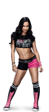 Aj Lee lista para luchar con su truza puesta en la WWE, la diva más bella de la historia de la WWE, la mejor diva