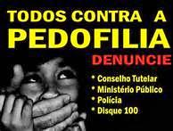Atenção pedofilia é  crime