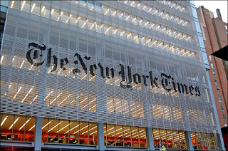 The New York Times newspaper headquarters