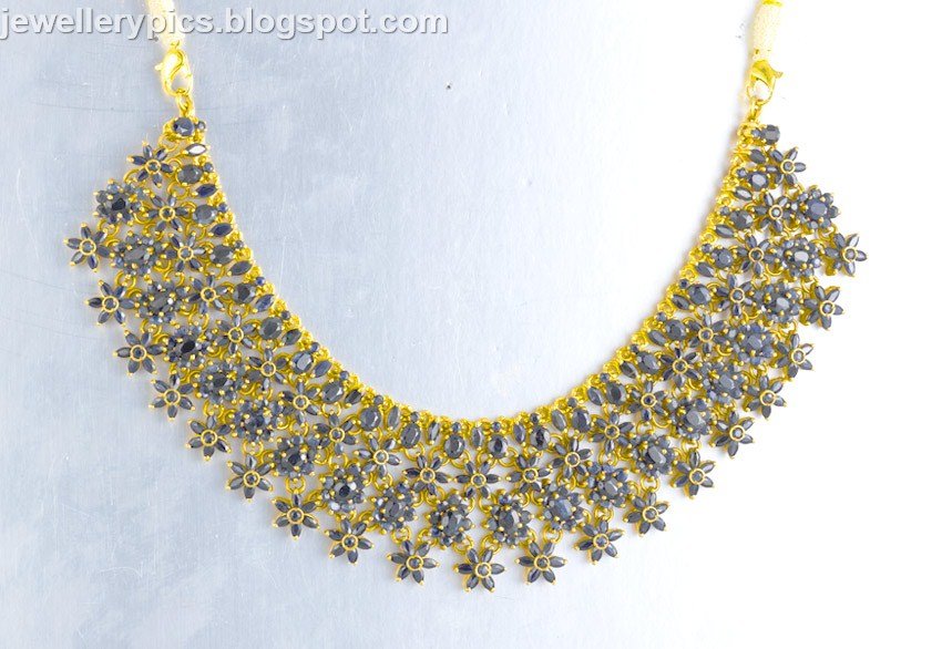 Gold kundan necklace collection by Jos alukkas - Latest Jewellery ...