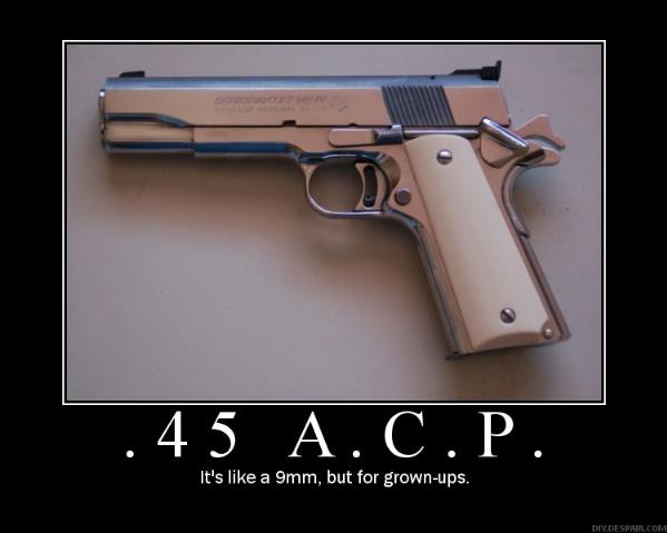 9Mm vs 45ACP