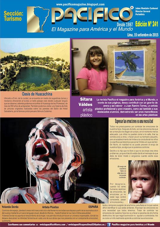 Revista Pacífico Nº 241 Turismo