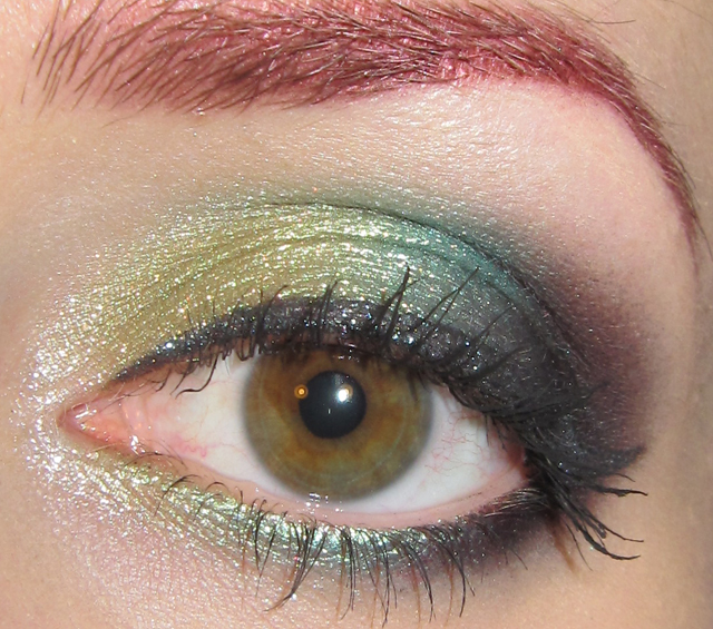 Glitter Is My Crack Golden Lime Turquoise Black And Teal