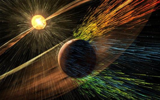 Sol está arrancando resto da atmosfera de Marte