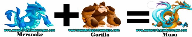 como obtener el monstruo musu en monster legends formula 1