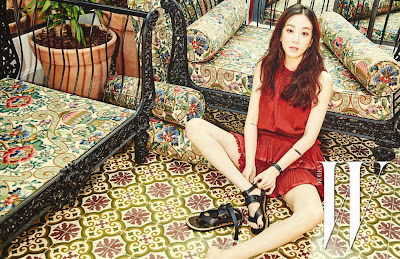 Jeong Ryeo Won - W Magazine April Issue 2015