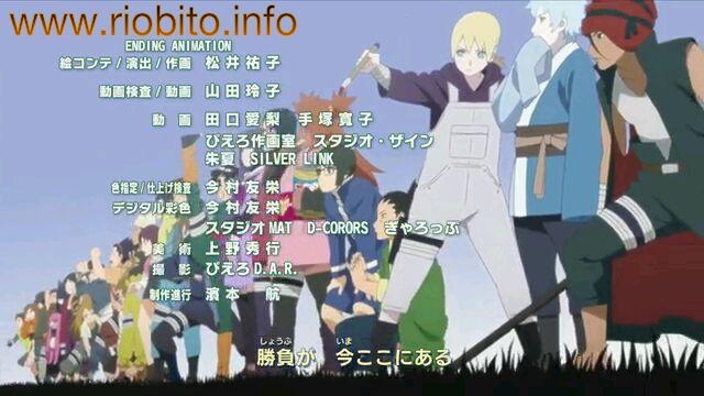 MELOFLOAT Boku wa Hashiri Tsuzukeru Boruto : Naruto Next Generations ending 3 review downlpad lyric