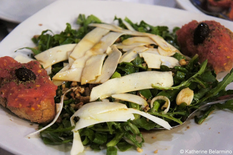 Chrisostomos Salad Places to Eat in Chania Crete
