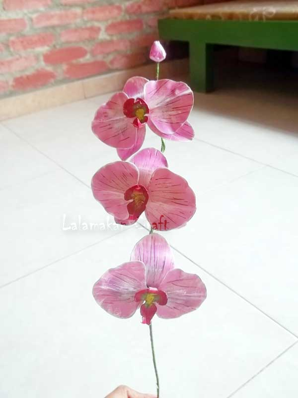 Creativity Tutorial: Merangkai Bunga Anggrek