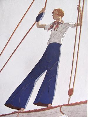 1930's Sailor style pants