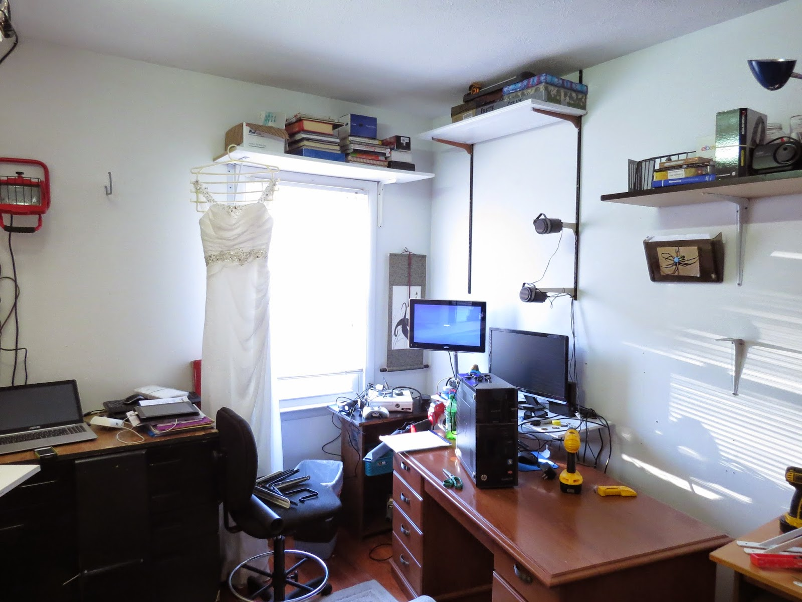 ebay office. **I Will Post Before And After Photos Of My EBay Office/packing Area/etc.** Ebay Office