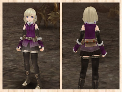 冒険者の服 紫1