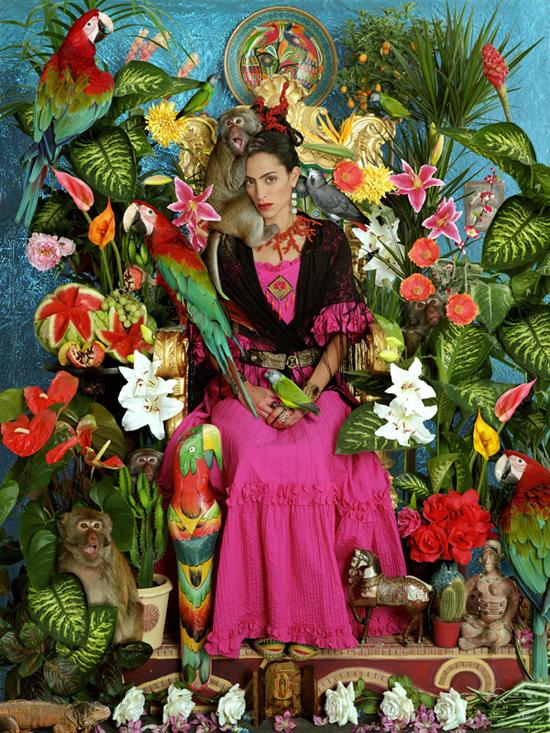Mexique Artisanat: Frida Kahlo Tableau Vivant