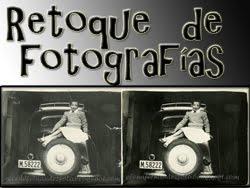 Retoque de fotografías antiguas