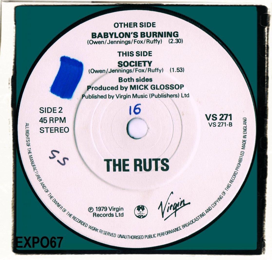 Ruts Babylons Burning