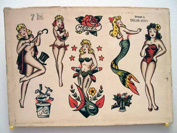 sweet cherry pie old school tattoos hist ria. Black Bedroom Furniture Sets. Home Design Ideas