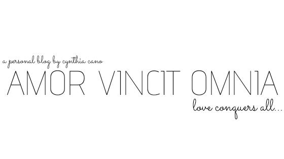 AMOR VINCIT OMNIA | Cynthia Cano