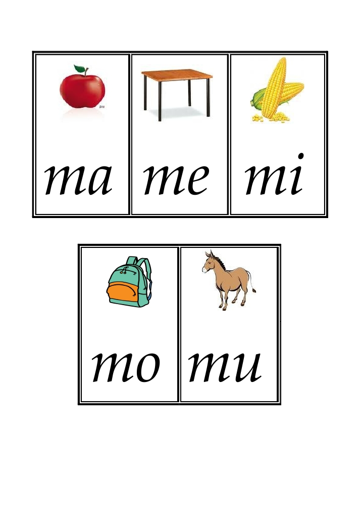 Ma Mi Mu Me Mo Picture