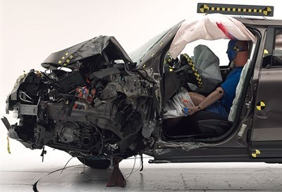 Fiat 500X IIHS Crash Test Result