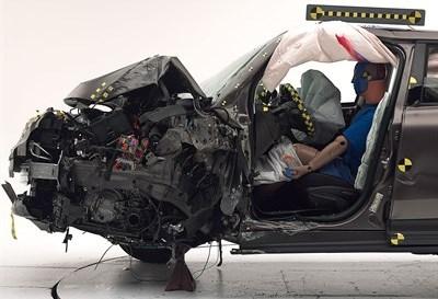 Fiat 500X IIHS Crash Test Result