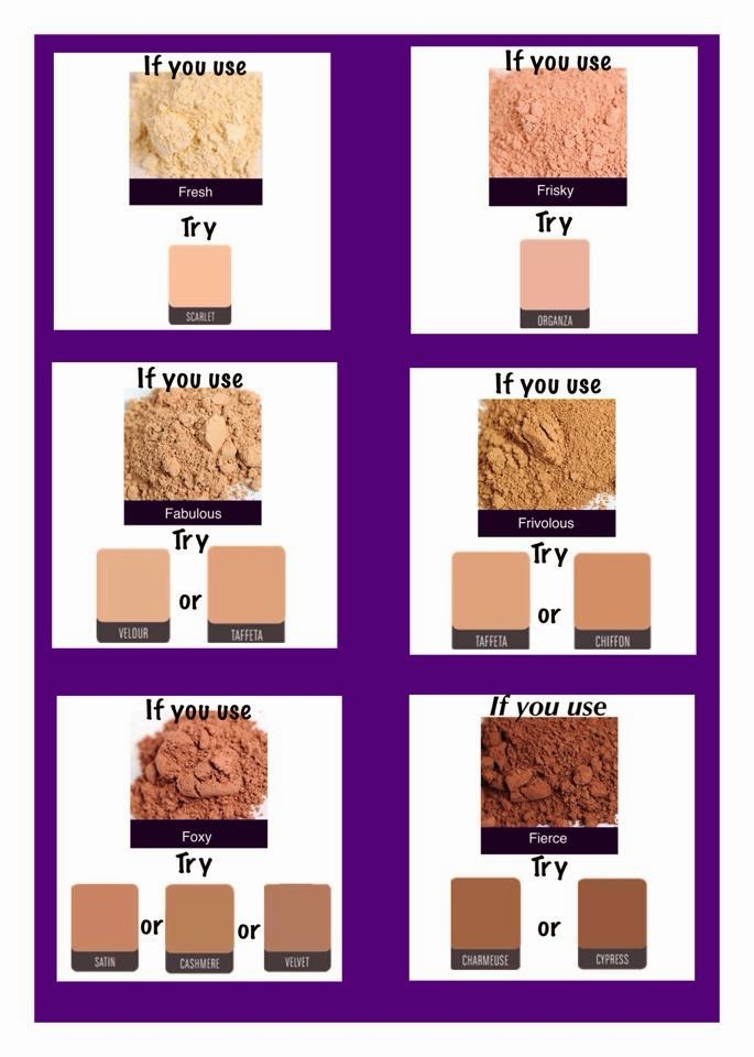 Mineral Touch Color Match Younique Products By Lauralee