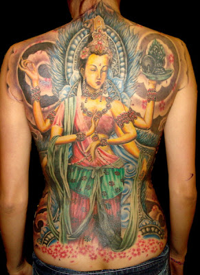 Women WithJapanese Geisha Tattoos