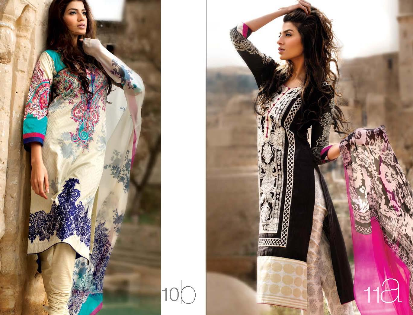 SanaSafinazLawn2013252842529 - Sana Safinaz Lawn Collection 2013