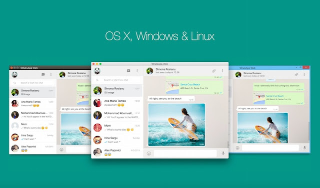 تحميل برنامج واتس اب ديسك توب WhatsApp for Desktop 2015 علي الكمبيوتر