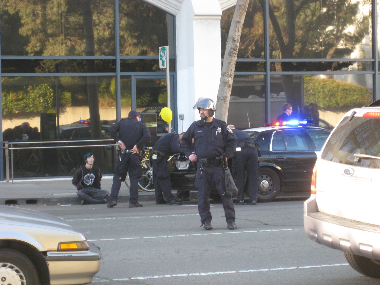 Occupy Oakland Morphs From Protest To Strike NPR