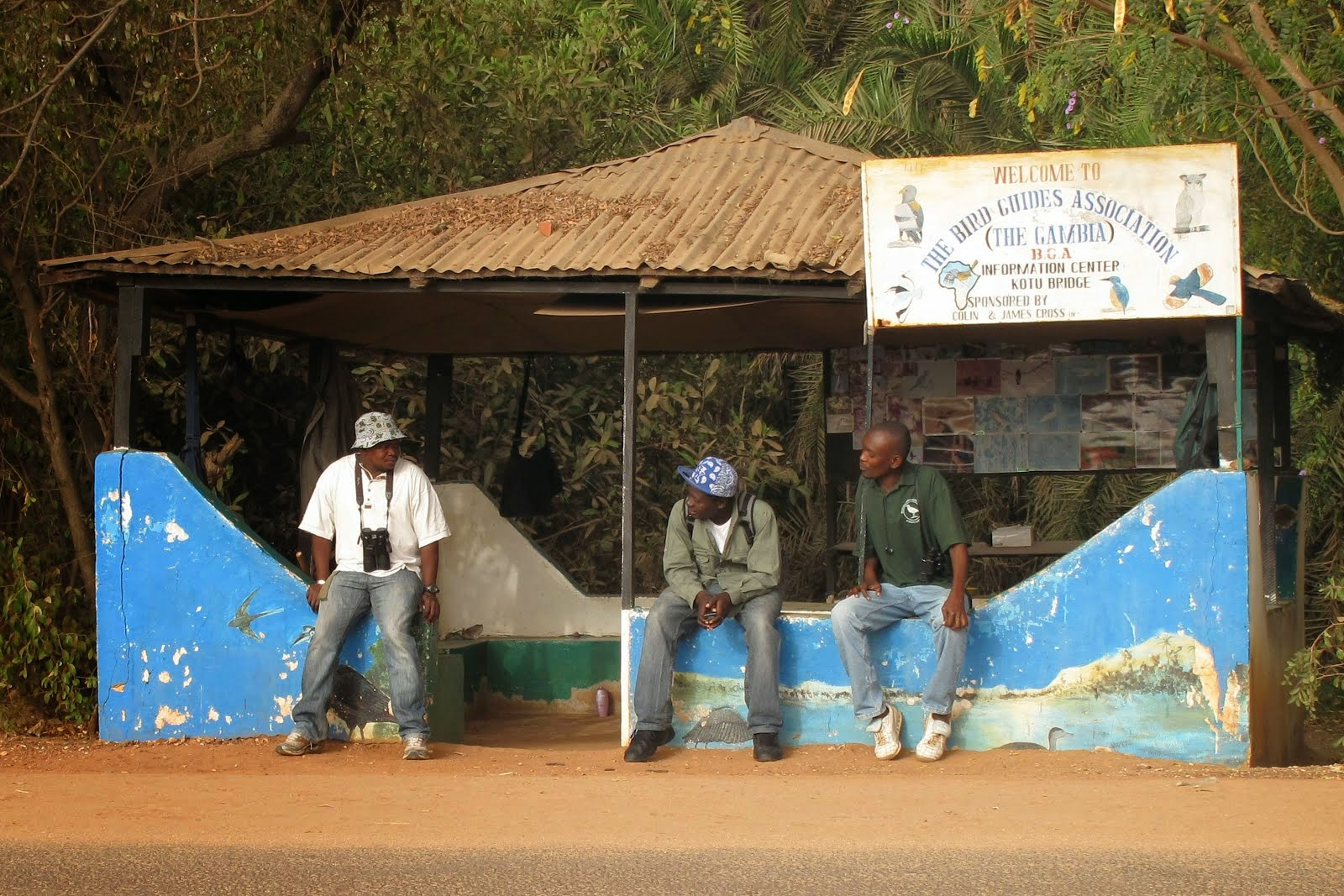 Gambian Bird Guides Association Office