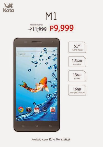 Kata M1 Launched, Full HD Quad Core Phablet For Php9,999