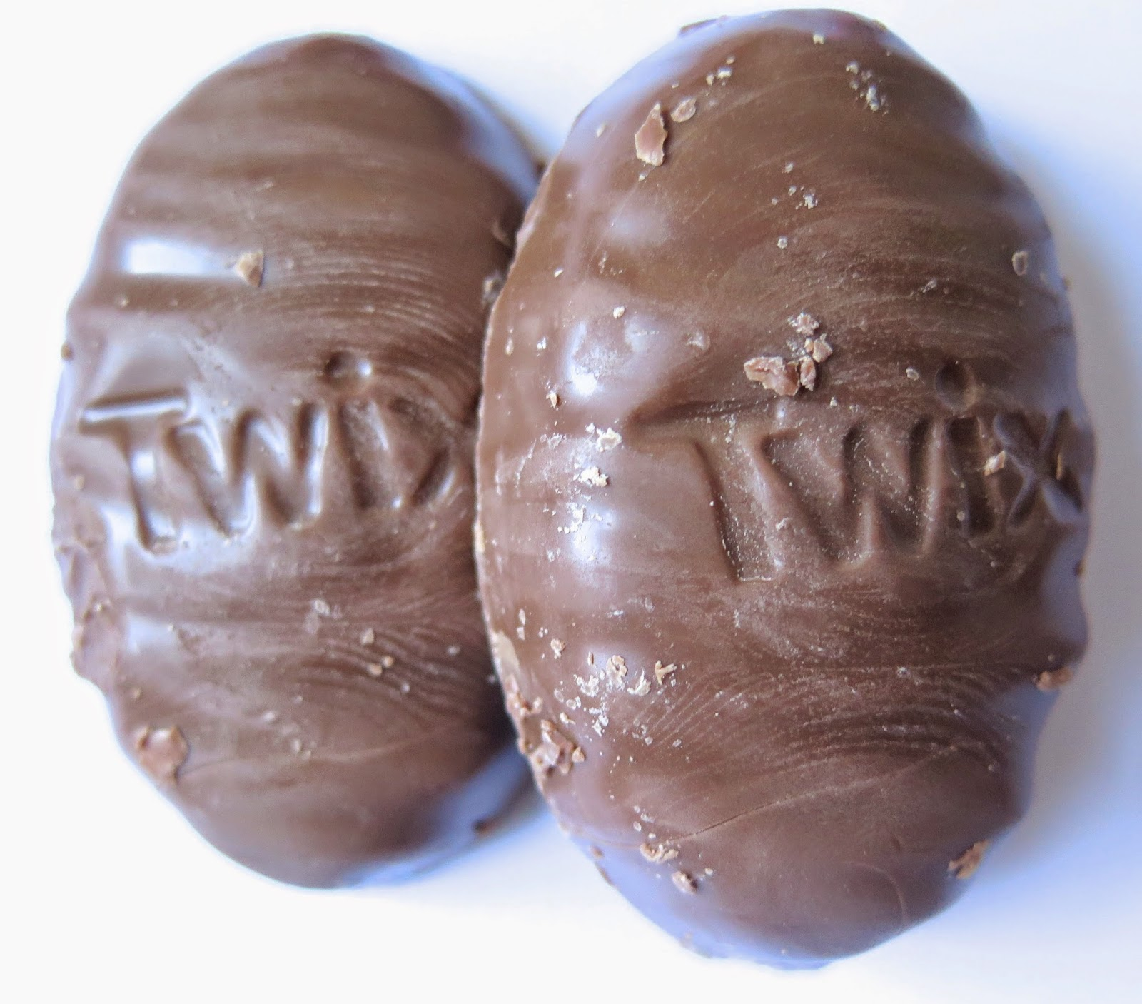 obsessive sweets post easter snapshot twix easter eggs nothing new but the festive shape
