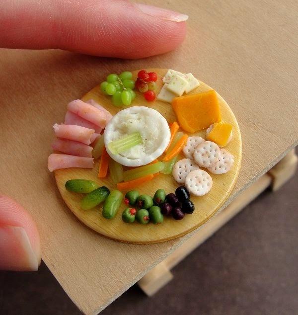 Cute Mininature food sculptures by fairchildart