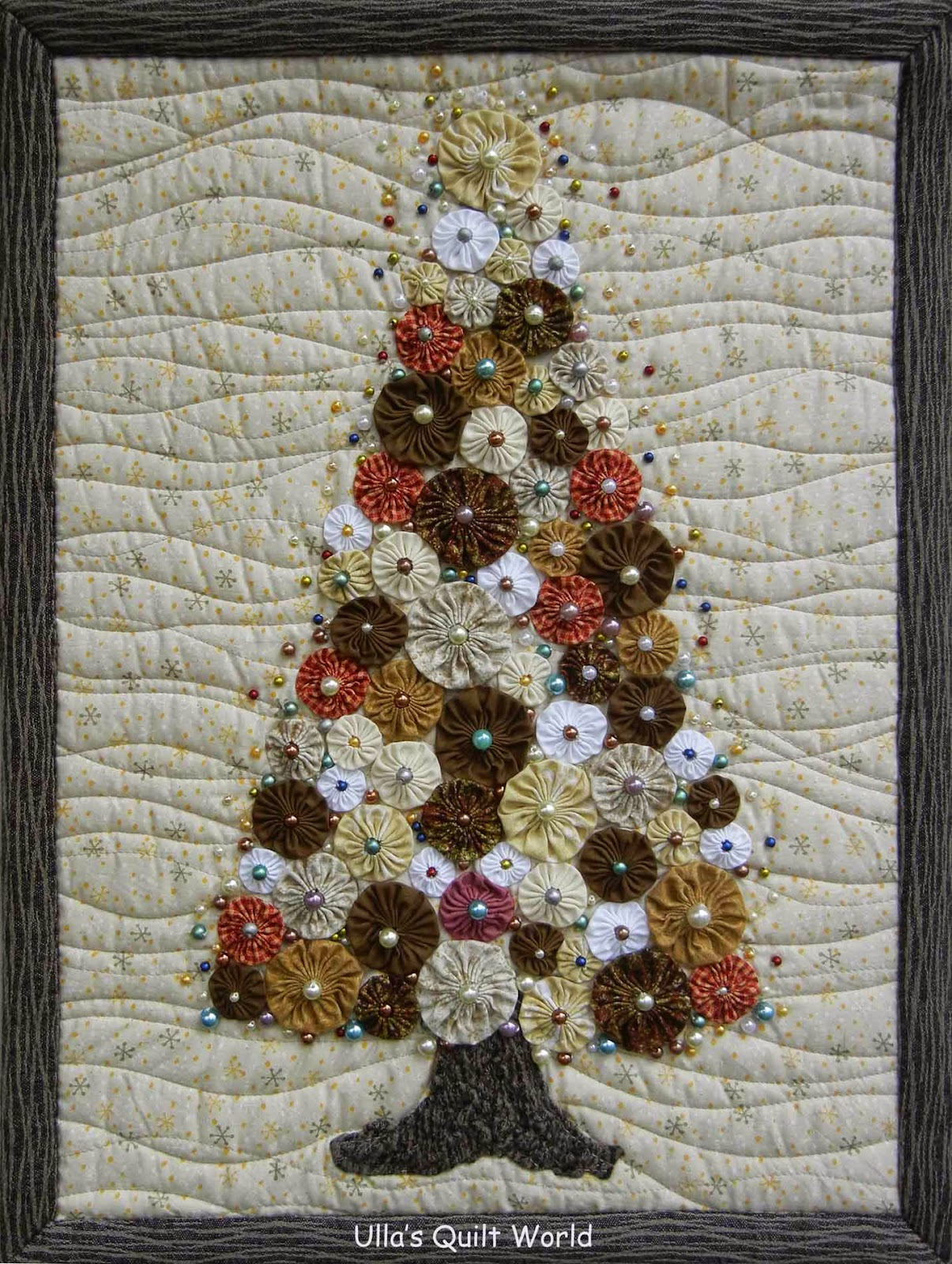 i got the idea for this christmas tree quilt from a book below i didnt use the pattern as you can see this pattern was published in burda patchwork