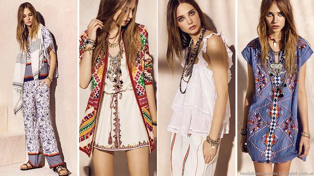 Moda primavera verano 2016 Rapsodia ropa de mujer. Moda 2016.