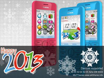 Happy,new,year,2013,theme,themes,tema,x2-00,x2-02,x2-05,asha,206,6303i,classic