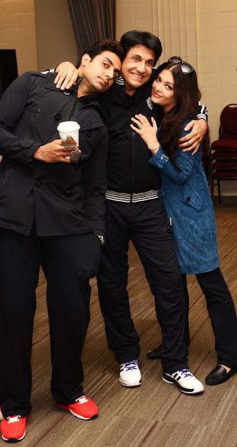 Aishwarya & Abhishek Bachchan At TOIFA Awards