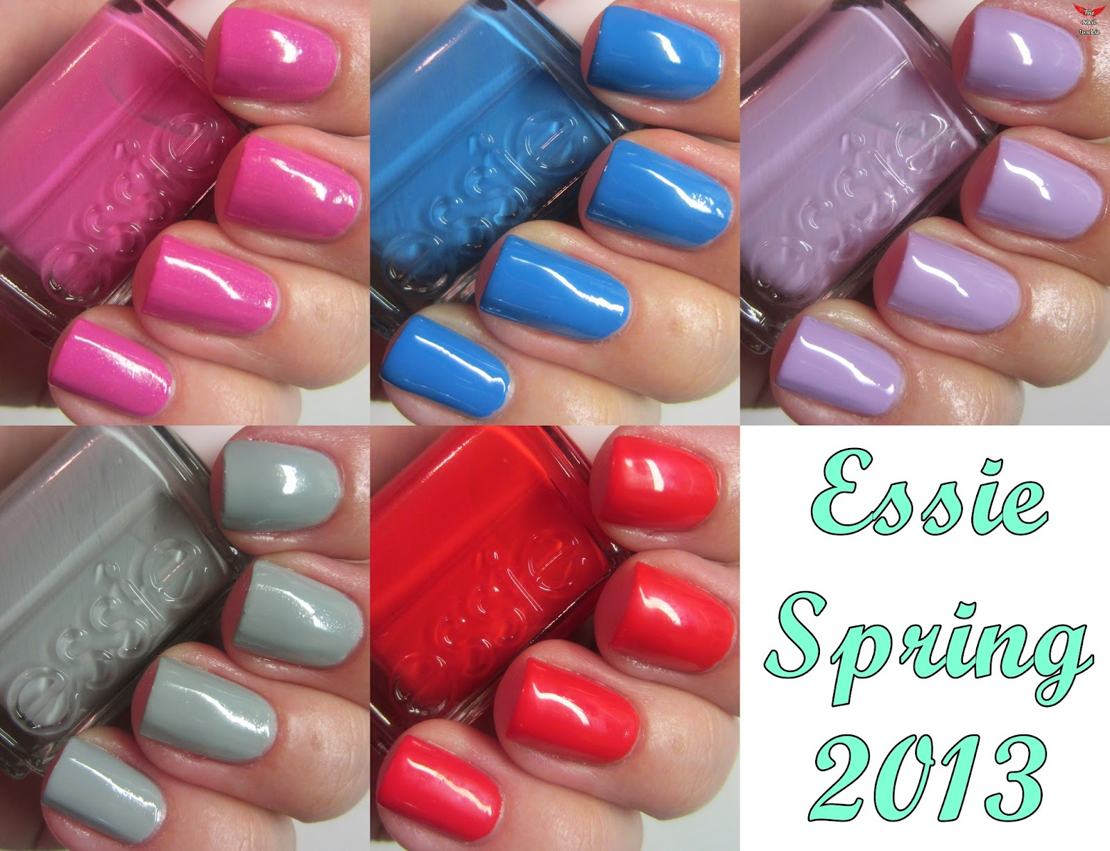 The Nail Junkie: SWATCH AND REVIEW: Essie Spring 2013 Collection