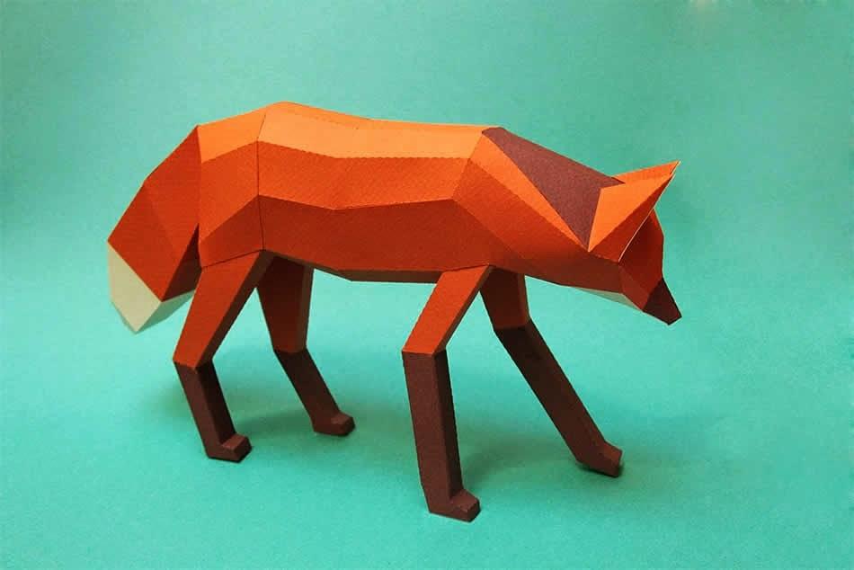 Simply Creative: Geometric 3D Paper Sculptures by Estudio Guardabosques