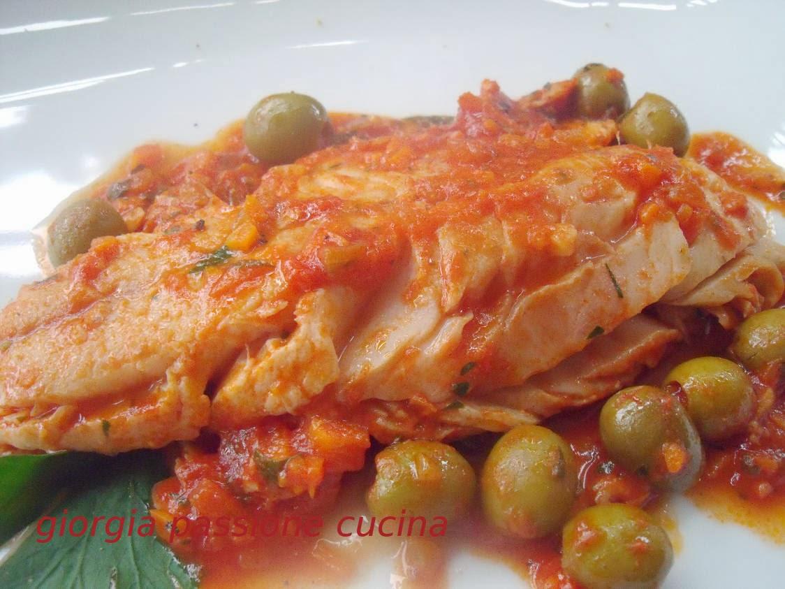 giorgia passione cucina: filetti di merluzzo in umido