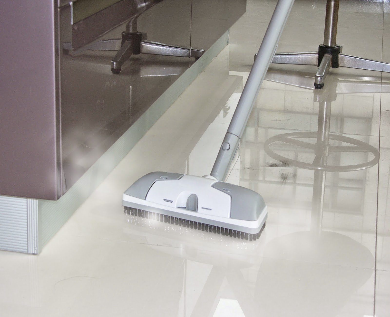 how to clean floor tile grout with steam
