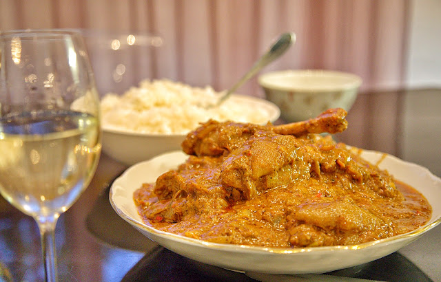карри с курицей в казане на даче пошаговый рецепт