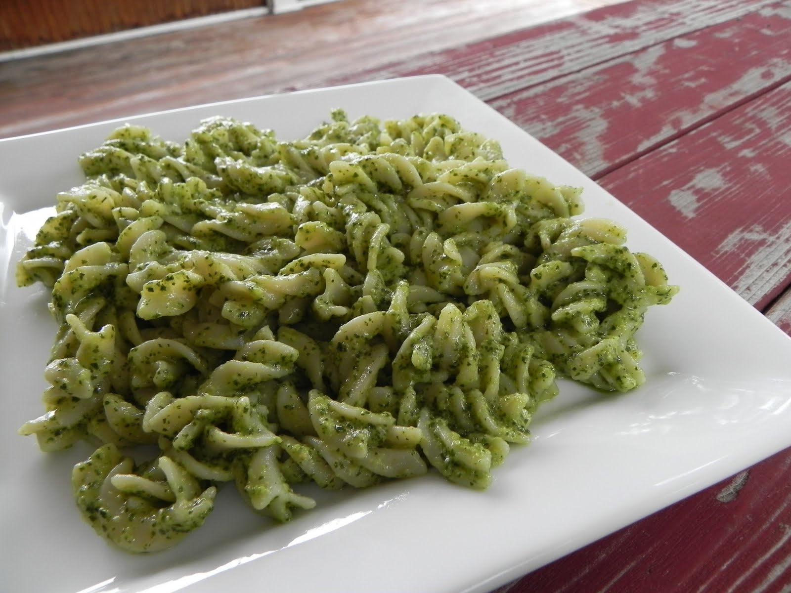Fusilli With Lemon Basil Pesto {Gluten Free & Vegan} – The ...