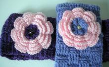 rose en tricotin